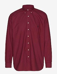 Classic Fit Oxford Shirt - AUBERGINE