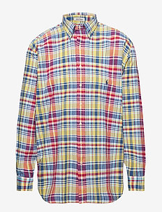 Classic Fit Madras Shirt - 3314 SUNSHINE YEL