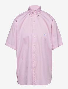 Classic Fit Twill Shirt - CARMEL PINK