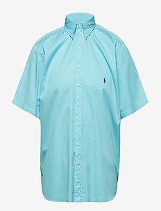 Classic Fit Twill Shirt - HAMMOND BLUE