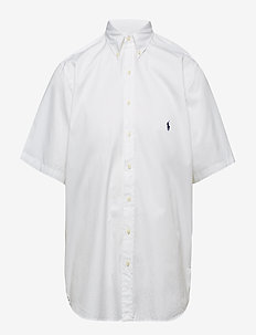Classic Fit Twill Shirt - WHITE