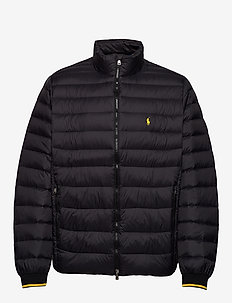 Packable Down Jacket - POLO BLACK