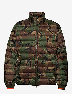 Packable Camo Down Jacket - BRITISH ELMWOOD C