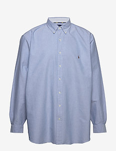 Classic Fit Plaid Oxford Shirt - BSR BLUE