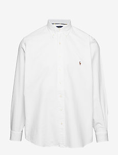 Classic Fit Plaid Oxford Shirt - BSR WHITE