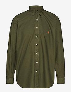 Classic Fit Oxford Shirt - COMPANY OLIVE