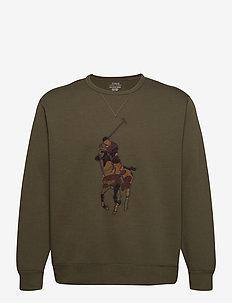 Big Pony Sweatshirt - overdele - company olive w/