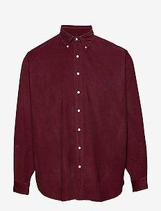 Classic Fit Corduroy Shirt - CLASSIC WINE