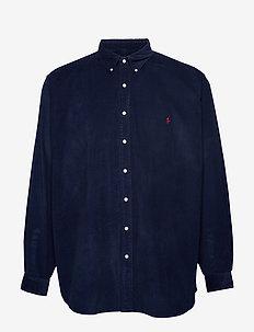 Classic Fit Corduroy Shirt - CRUISE NAVY