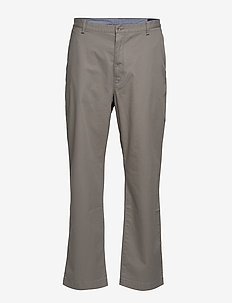 Stretch Classic Fit Chino - ATHLETIC GREY