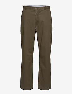 Stretch Classic Fit Chino - DEFENDER GREEN