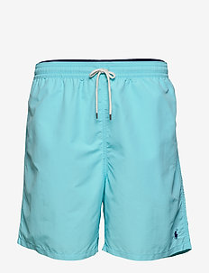 Traveler Swim Trunk - badehosen - hammond blue