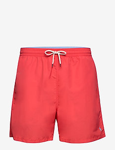 Traveler Swim Trunk - badebukser - racing red