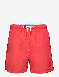 Traveler Swim Trunk - shorts - racing red