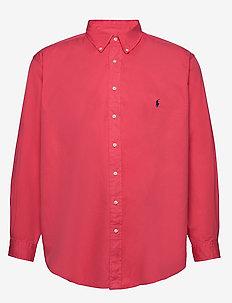 Classic Fit Twill Shirt - basic shirts - cactus flower
