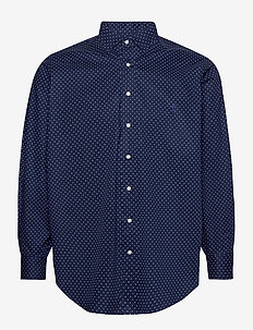 Classic Fit Dot Poplin Shirt - business skjorter - 4511 executive do
