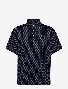 Classic Fit Interlock Polo - kortermede - french navy deco