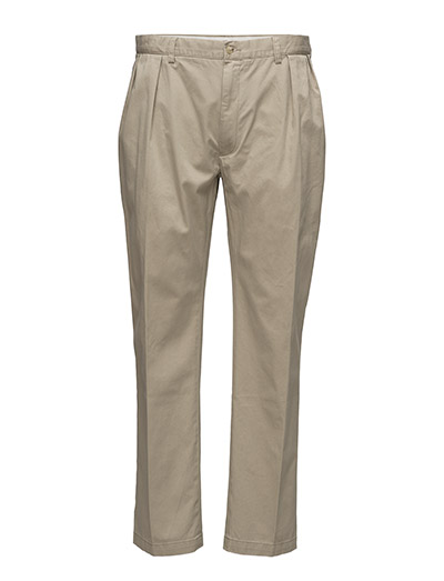 CLASSIC-FIT PLEATED CHINO - TAN
