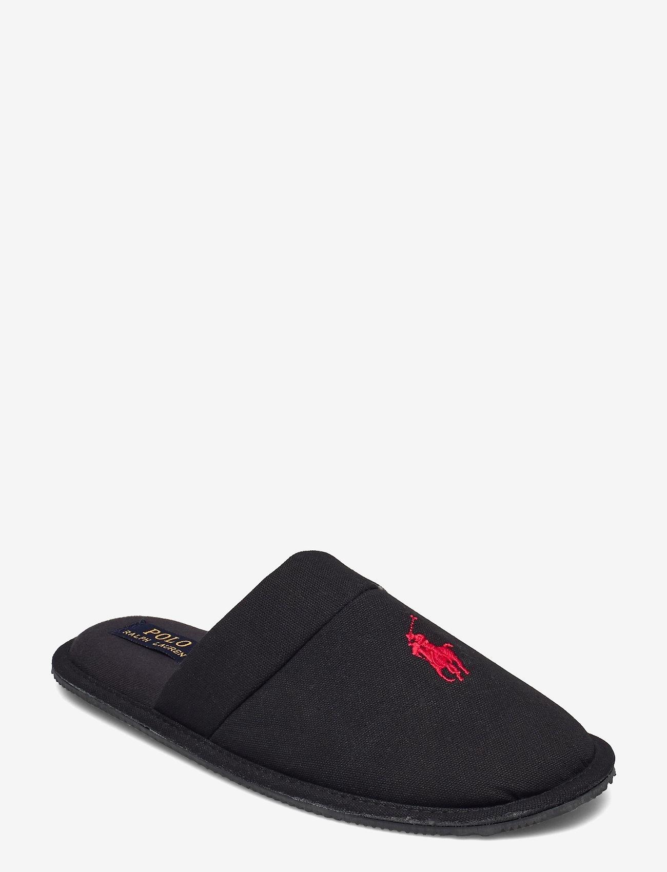 Polo Ralph Lauren - KLARENCE - tossut - black pique cotton - 0