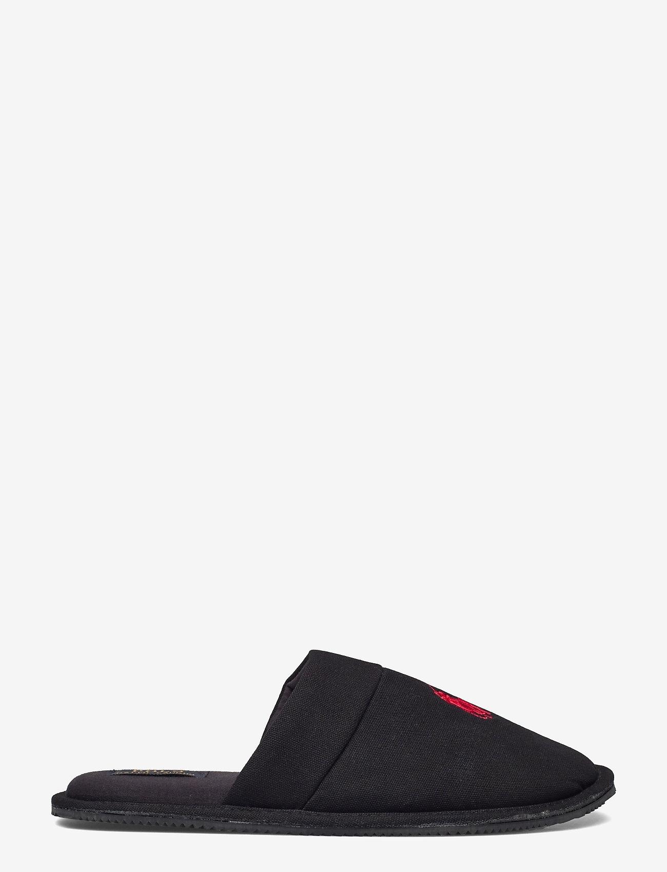 Polo Ralph Lauren - KLARENCE - tossut - black pique cotton - 1