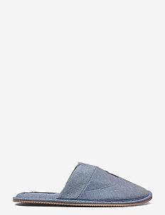 KLARENCE - tossut - blue chambray