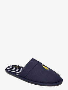 KLARENCE - slippers - navy pique cotton