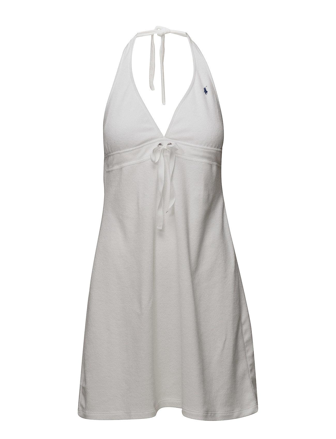 Polo Ralph Lauren Swimwear Terry Styles Grommet Halter Dress