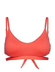 Polo Ralph Lauren Swimwear MODERN SOLIDS OTS BRA Guava, X-Small