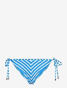 Pique Stripe Ricky Tie Hipster - POOL