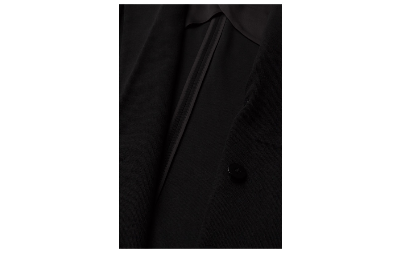 40 Coton Lauren Polyester Inner Doublure breasted 100 60 Coquille Blazer Ralph Double Viscose Extérieure Knit Polo Black SvP5axw5