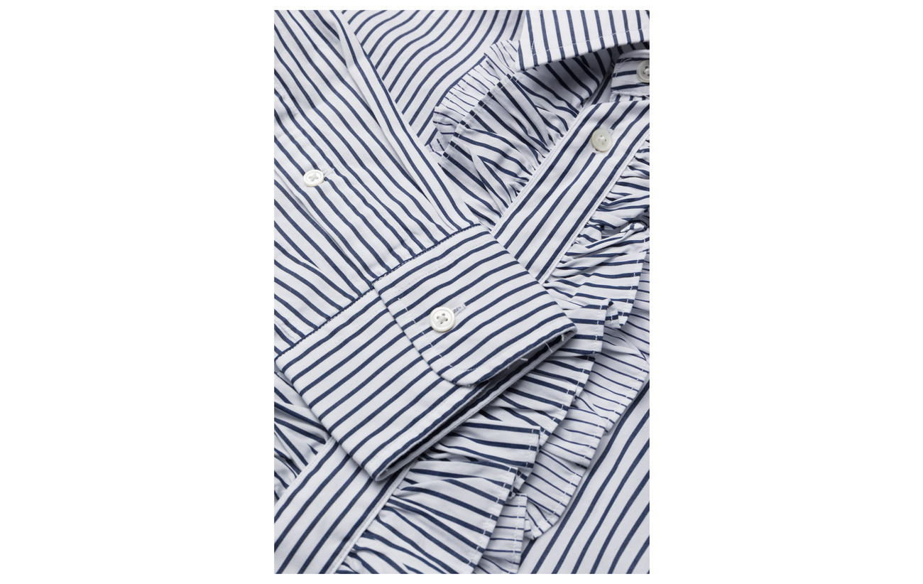 lsl Stripe sht Na Bengal polo Ralph 390 100 Coton Polo Lauren White tqw1IRwZ