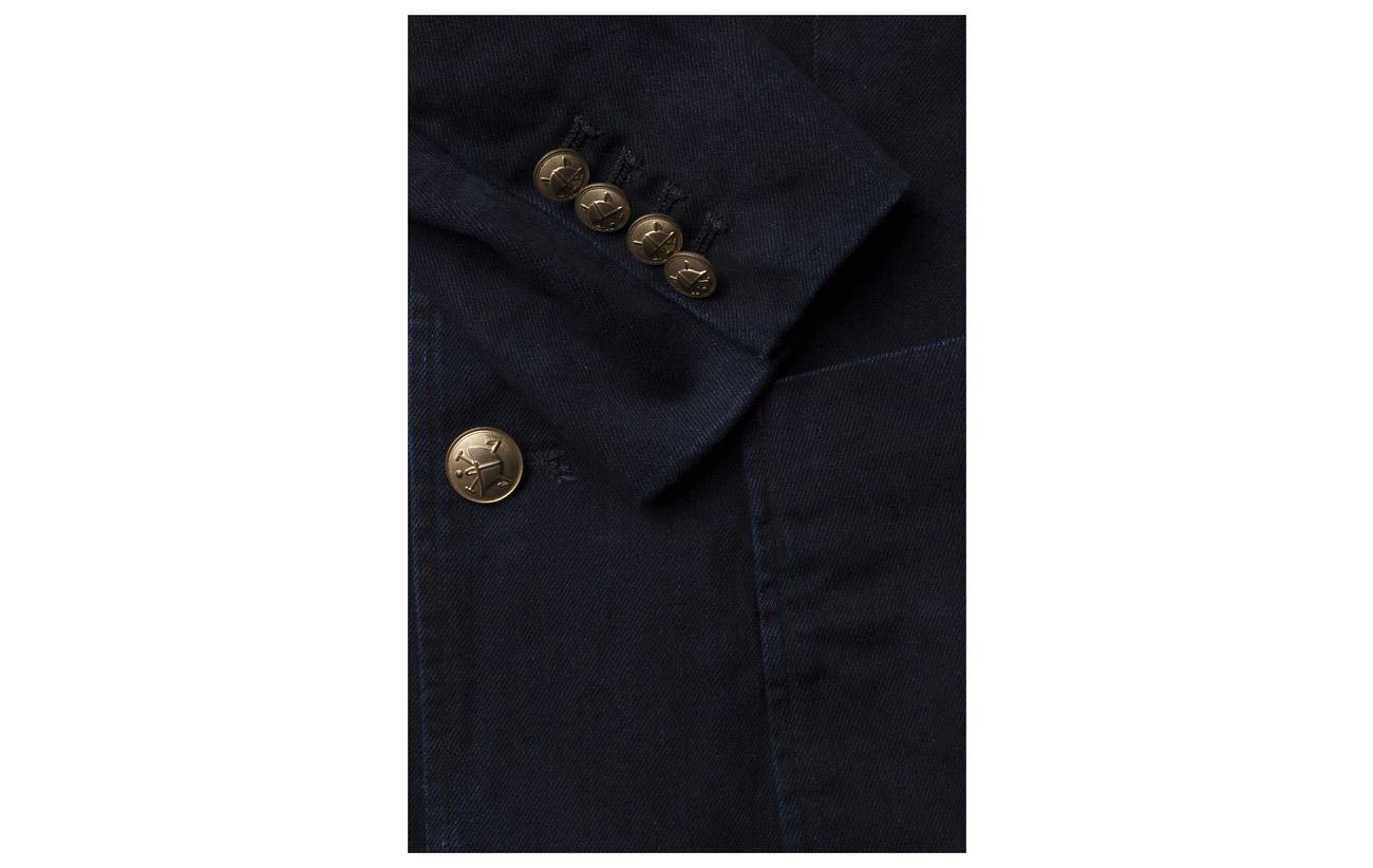100 Wash Ralph Indigo Polo Dark Lauren Baynes Coton blz f0OSqwA