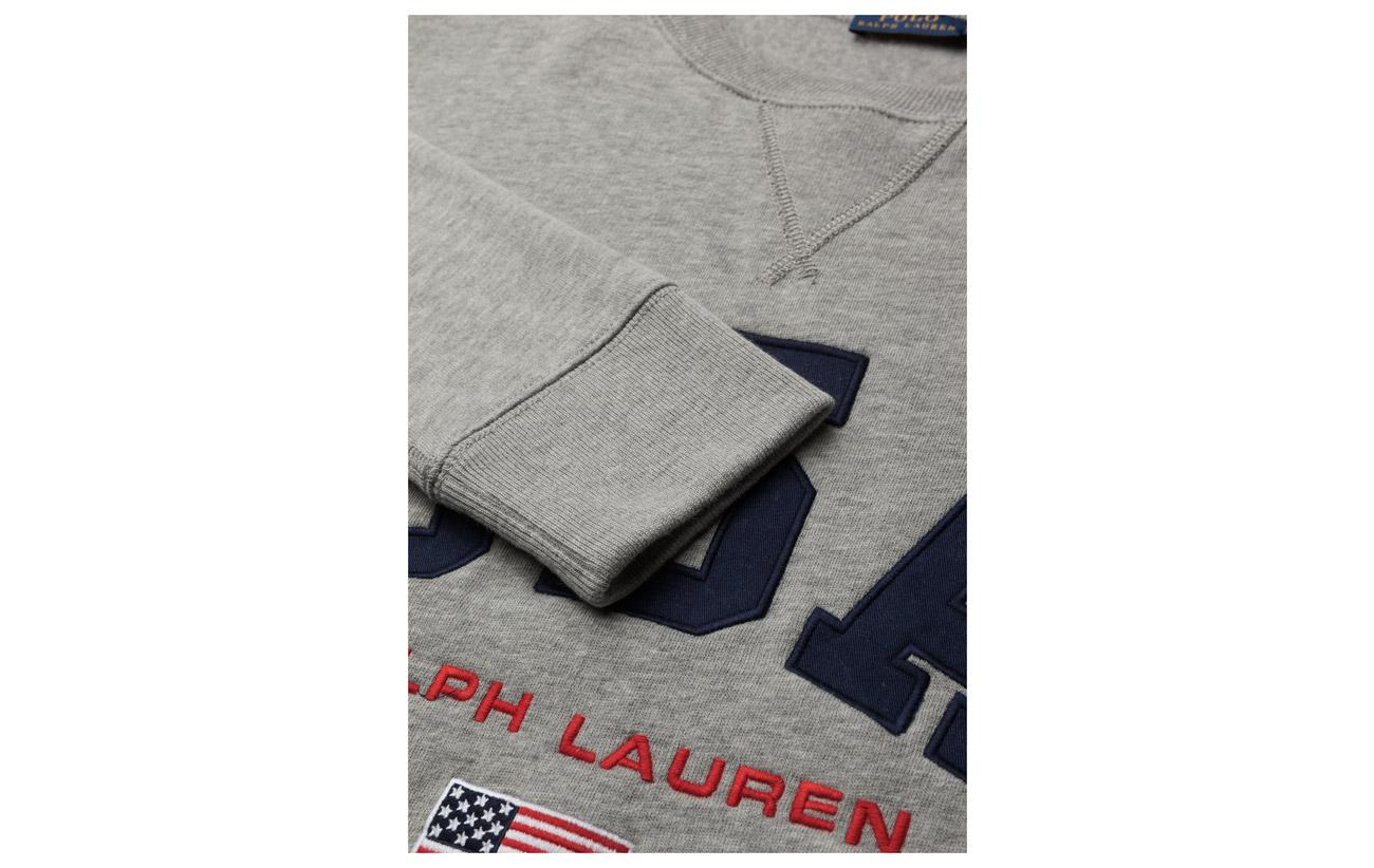 Coton Polyester Fleece Andover Heather 40 Lauren 60 Sweatshirt Ralph Usa Polo 7FWgB4qq