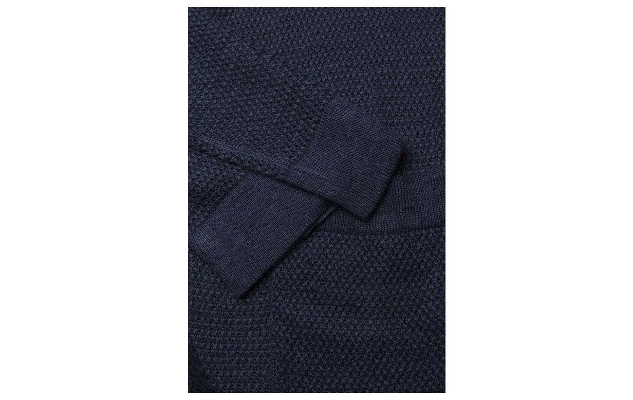 Navy Polo Viscose Lauren Ralph Polyester 100 swt Linen lsl New wwC7qH6