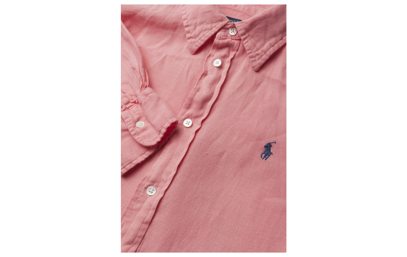 Tan Relaxed Lin Polo Fit Shirt 100 Ralph Lauren Linen Monument 60zwP40qr