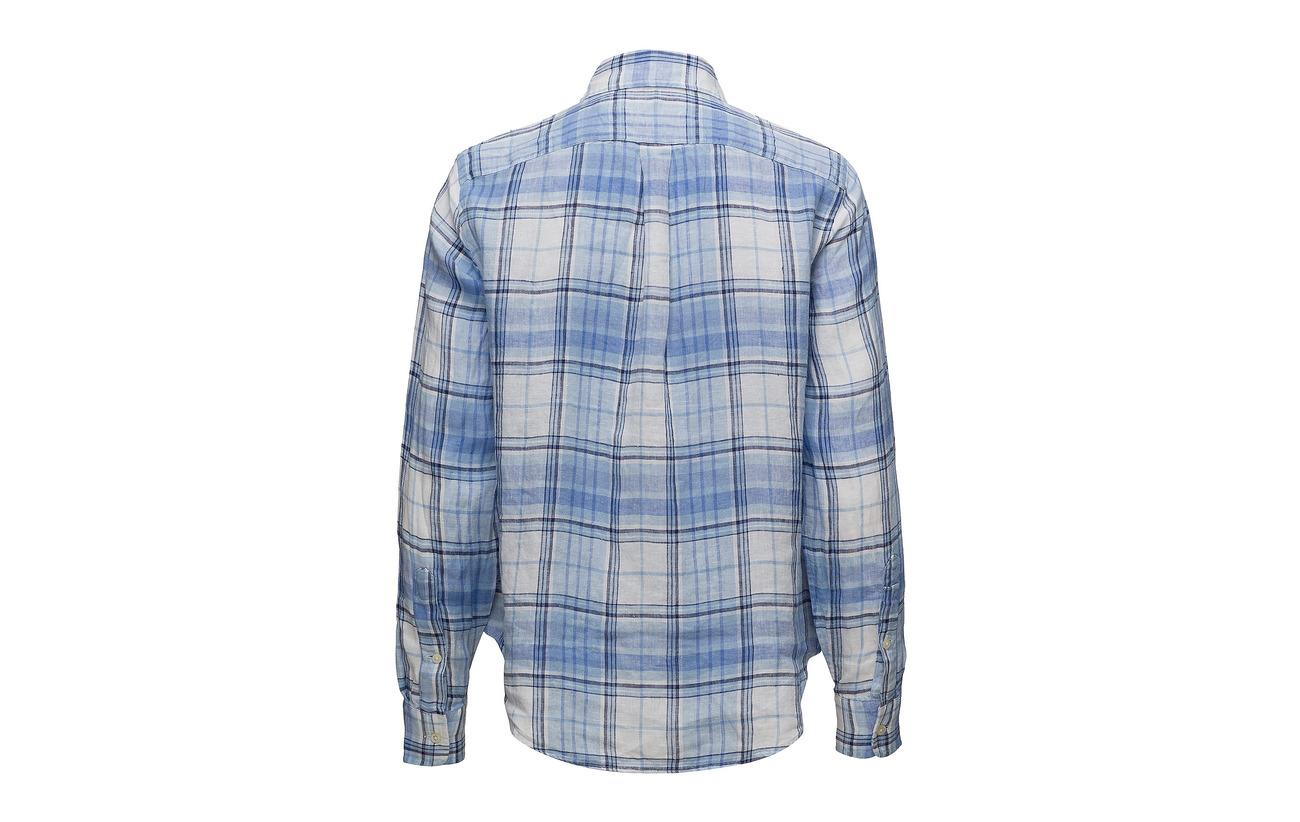 608 white Lin Fit Seaside Ralph Shirt Polo Boy 100 Linen Lauren 6wYqHfSF