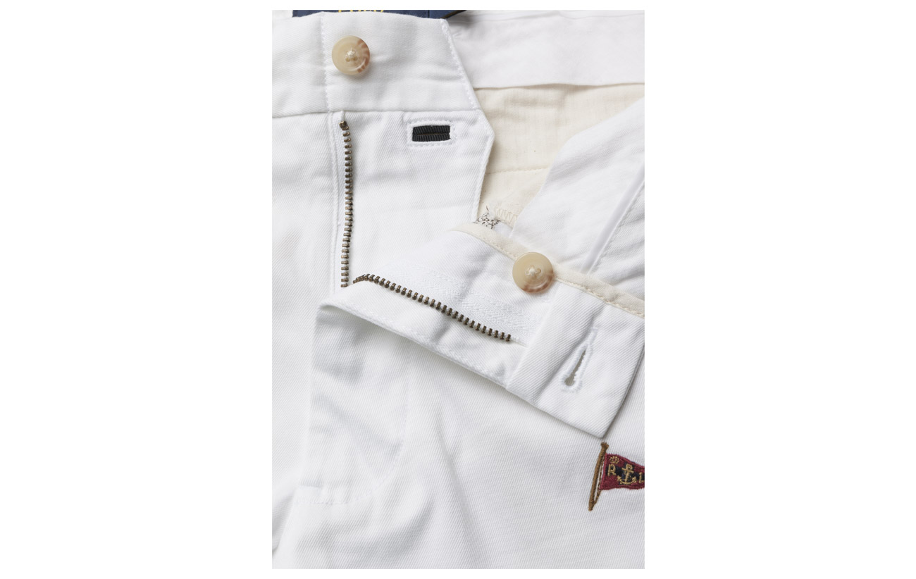 White 1 Stretch Cropped Lauren Polo Coton Ralph Elastane 99 Pant Twill 6zHYqTxq