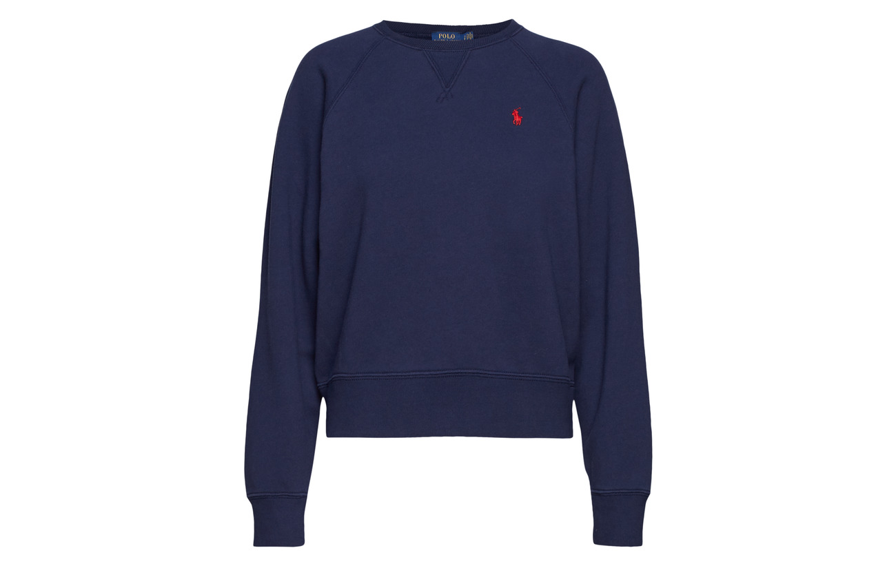 Ralph Sport Lauren 16 Fleece 84 Pullover Polo Polyester Coton Heather Lt ZTdFqZw