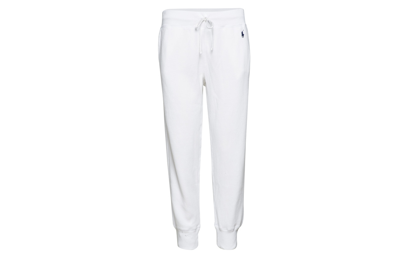 16 White Sweatpant Fleece Ralph 84 Polyester Coton Lauren Polo tIFqwW0n