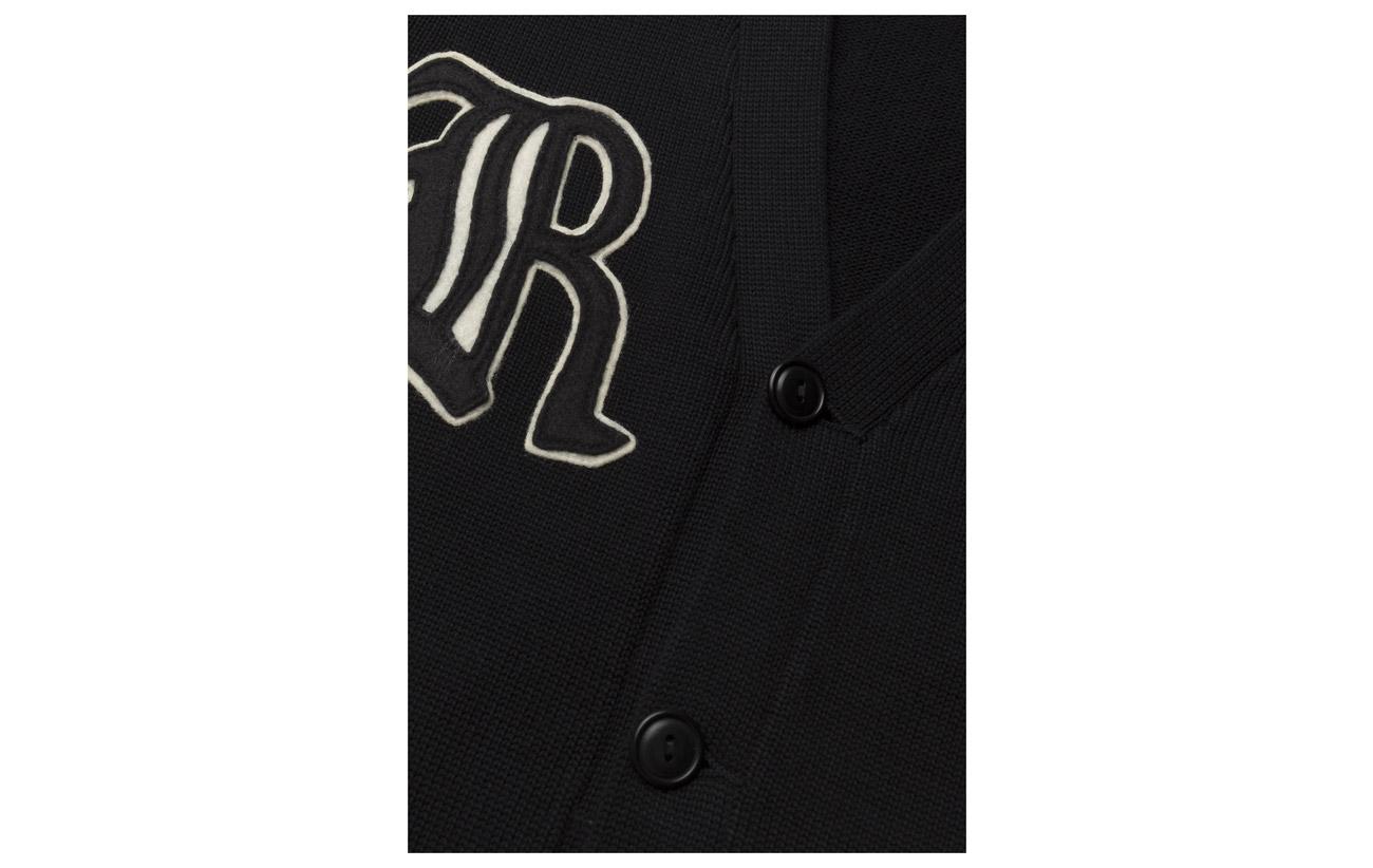 Cardigan Coton Polo Black 100 Lauren Cotton cream Ralph Patchwork 8IrIqTS