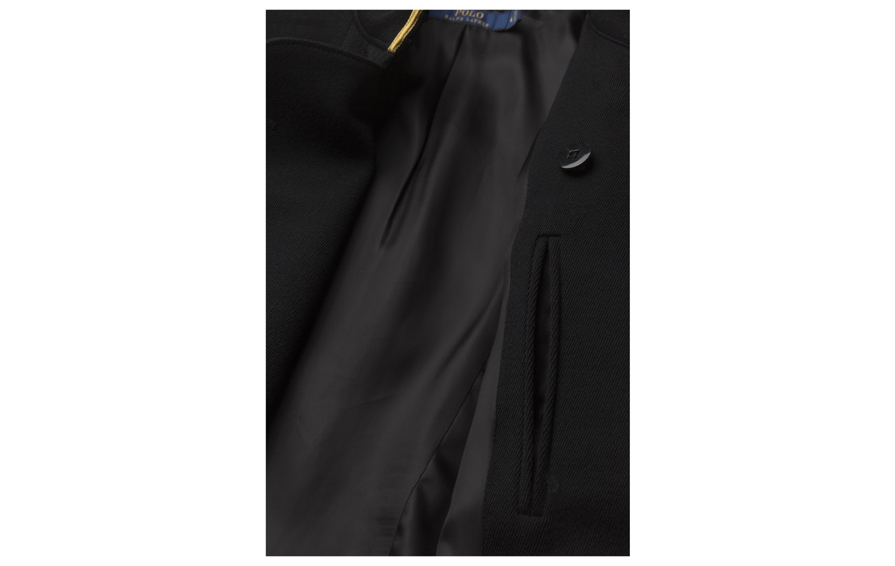 Wool Laine Polo Admiral Lauren Black Jacket Ralph 100 wxOZP4qEp