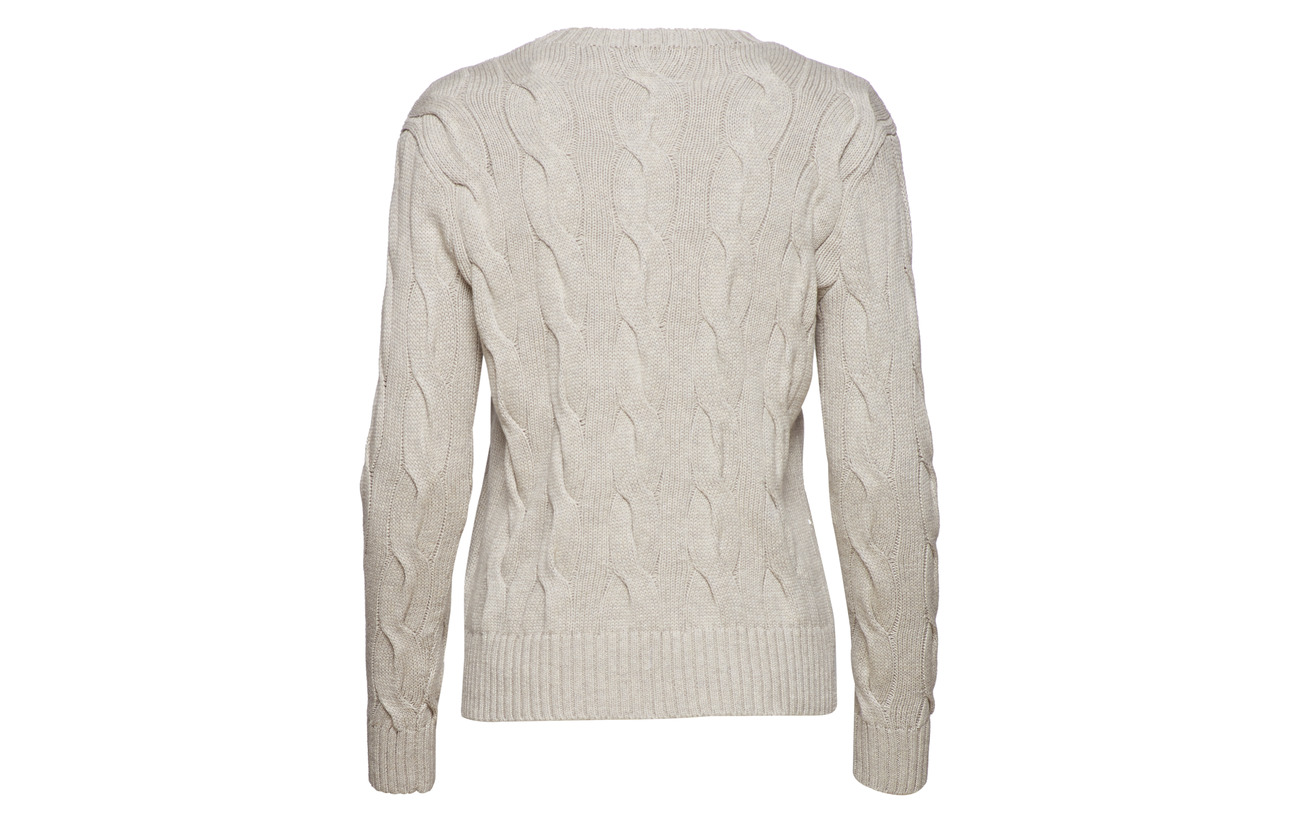 Cotton Berry 100 Ralph Adirondack Polo Cable Lauren Sweater knit Coton RxfUI