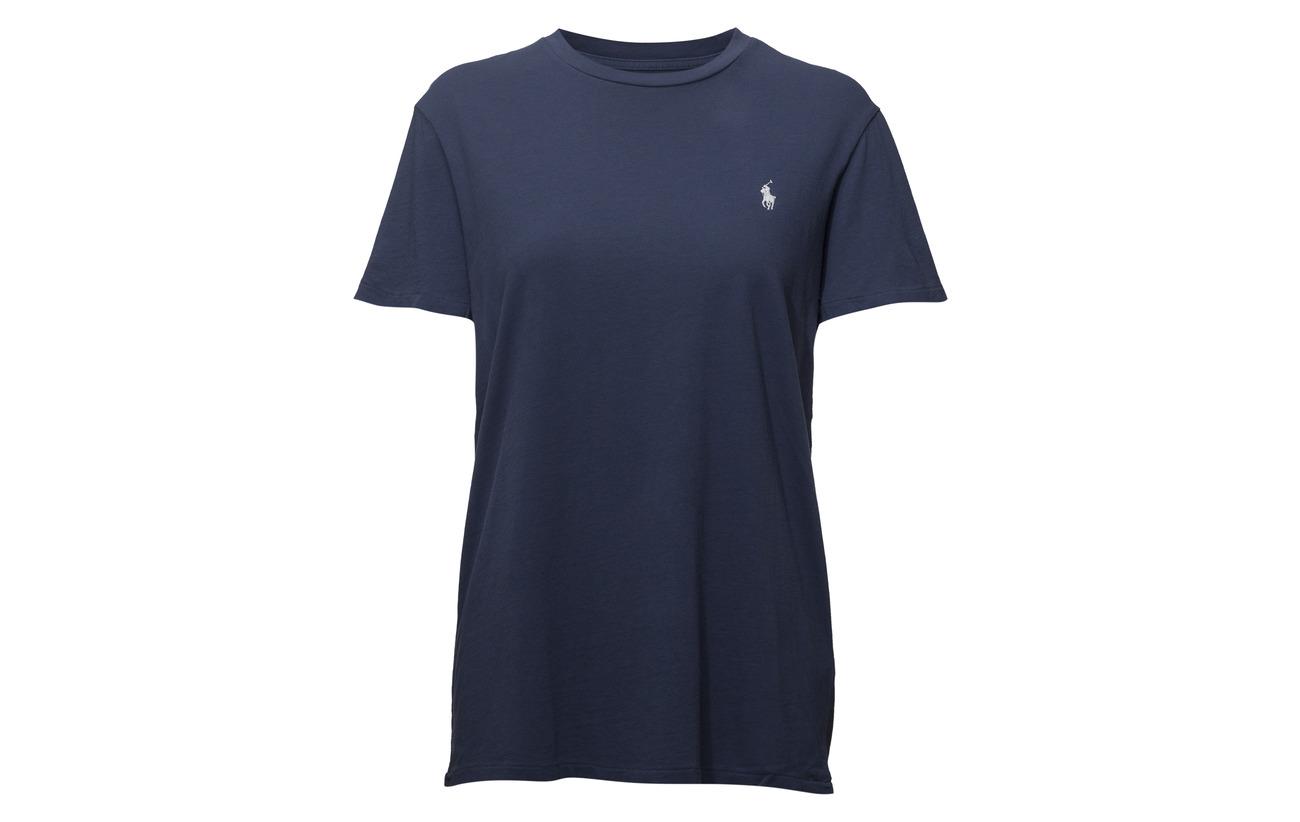 Navy Lauren T Coton Polo 100 Rustic shirt Cotton Oversize Ralph 0fHSS6qBZ