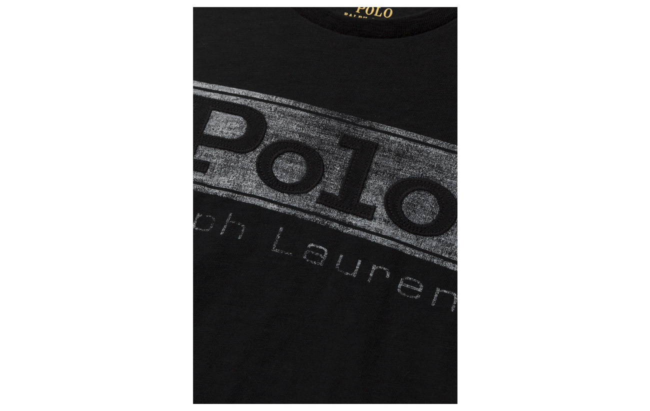Ralph 100 Royal Graphic Coton shirt Lauren T Classic Jersey Polo Logo a4R4q