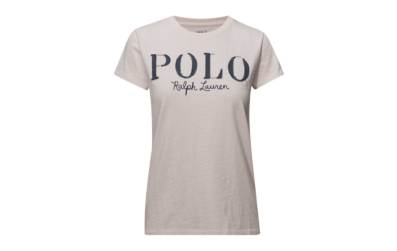 Ralph shirt Morning Polo Graphic Lauren Jersey Pink Coton T 100 vCxwwHfq