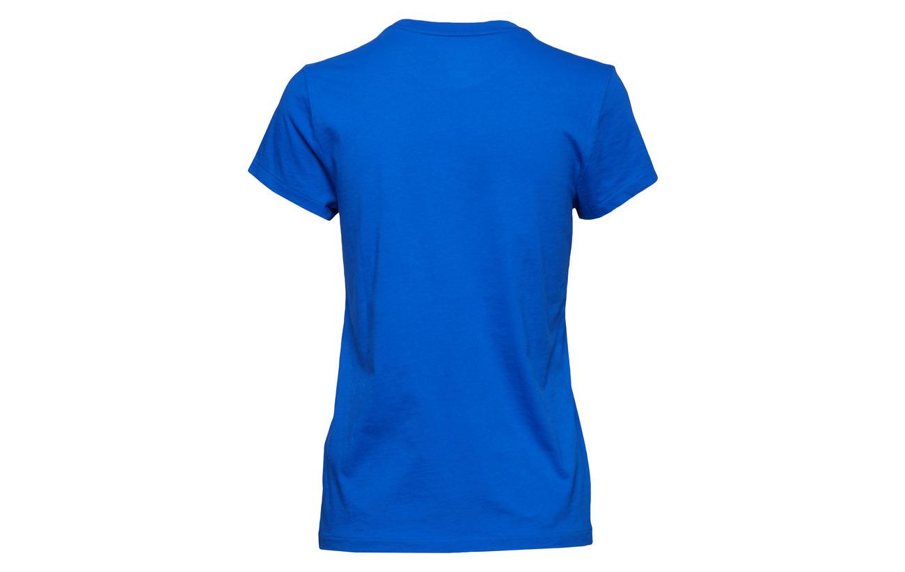 Crewneck Black Lauren 100 Cotton Polo T shirt Coton Ralph YntqvwHZ