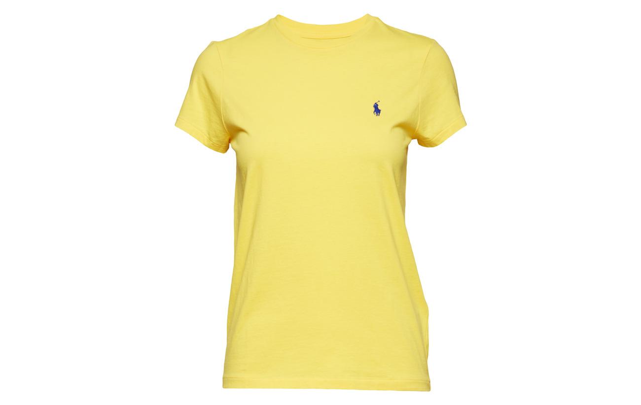 Crewneck T Cotton 100 Lauren shirt Polo Red Rl2000 Coton Ralph qFtfvwxI