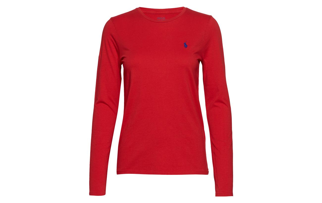 Polo Lauren White 100 Long Ralph sleeve Shirt Coton Cotton fqx5rzUwf