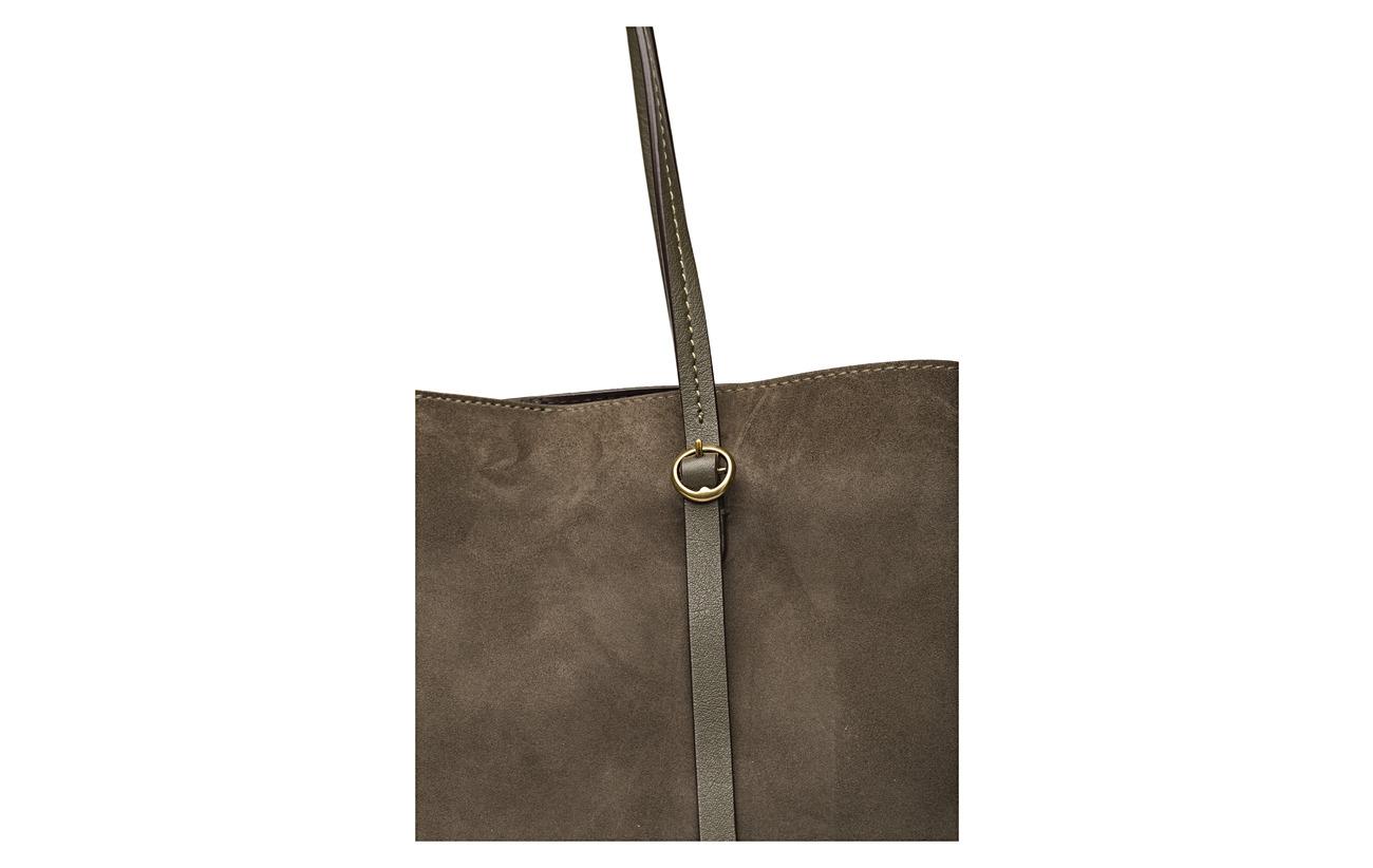 De Leather Polo Taupe Lauren Vache Peau Tote Lennox Ralph 100 H8aEqS