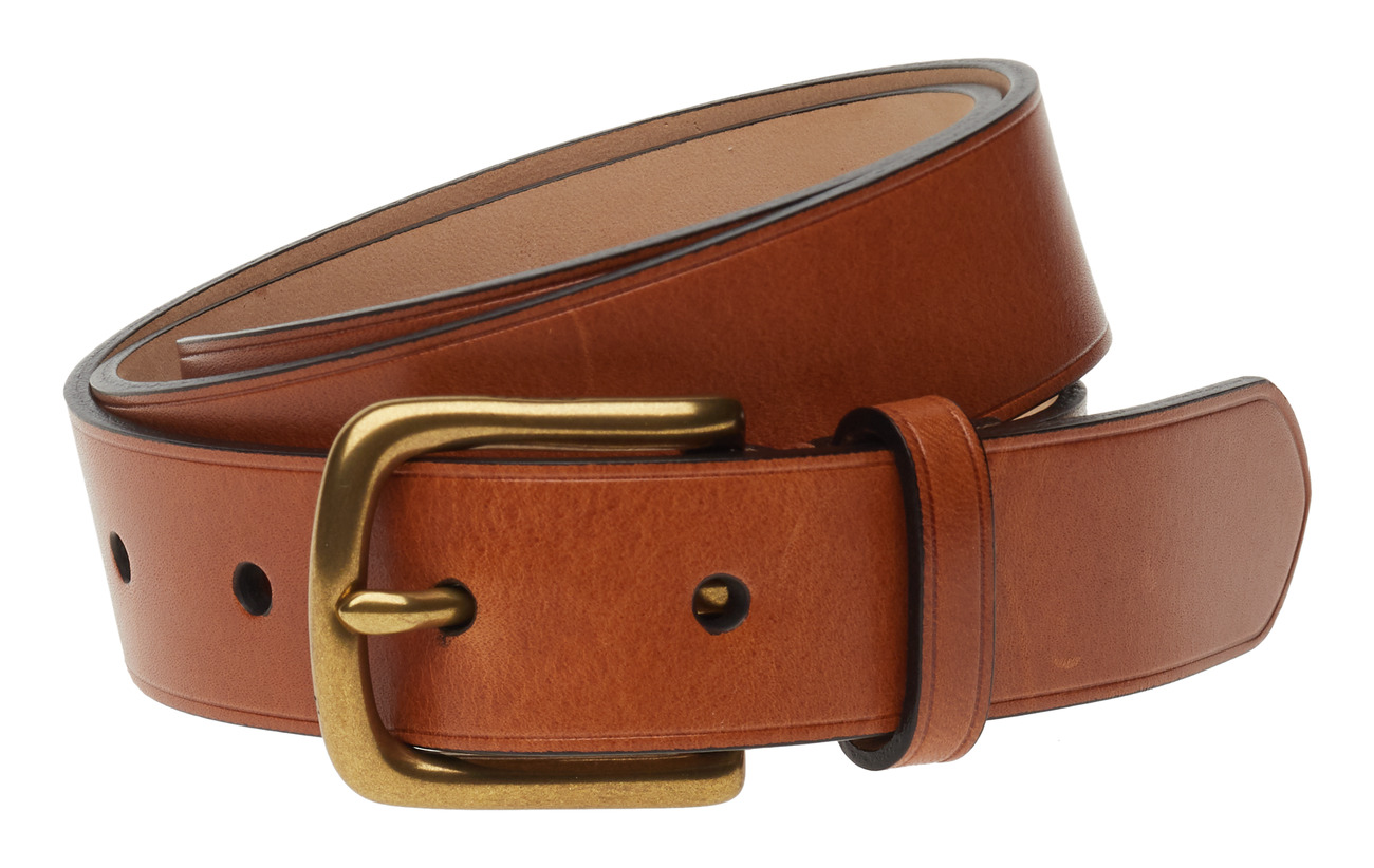 Polo Ralph Lauren LEATHER-DRESS BELT-DRS-SNY - CUOIO